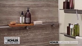 Kohler LuxStone Showers TV Spot, 'Get More Room Out of Your Shower' - Thumbnail 5
