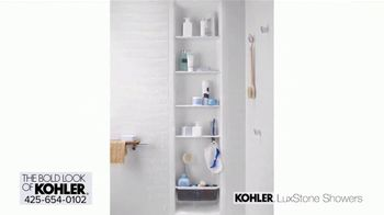Kohler LuxStone Showers TV Spot, 'Get More Room Out of Your Shower' - Thumbnail 6