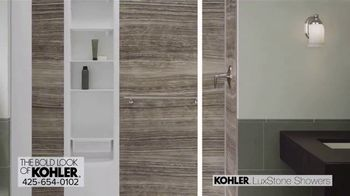 Kohler LuxStone Showers TV Spot, 'Get More Room Out of Your Shower' - Thumbnail 7