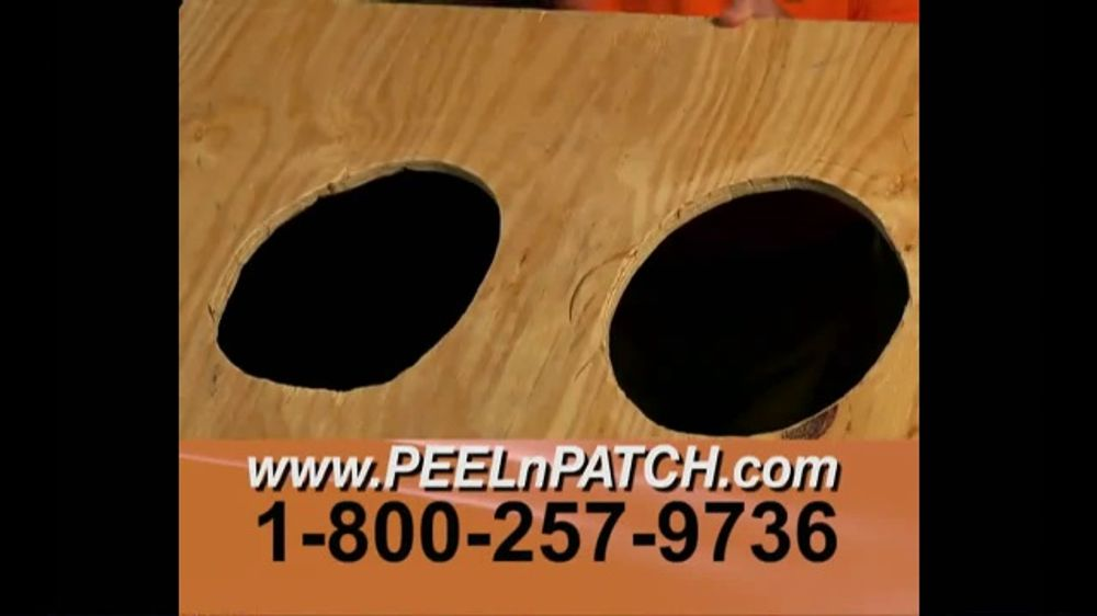 Peel N Patch TV Commercial, 'Repair Like a Pro'
