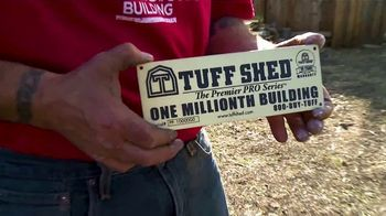 Tuff Shed Anniversary Sale TV Spot, 'Celebrate the Possibilities' - Thumbnail 1
