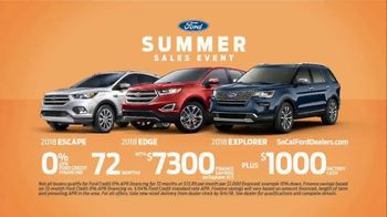 Ford Summer Sales Event TV Spot, 'A Great Time' [T2] - Thumbnail 9