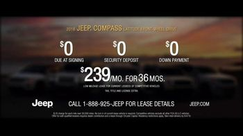 Jeep Summer of Jeep TV Spot, 'Full Line: Sold Out' Song by OneRepublic [T2] - Thumbnail 9