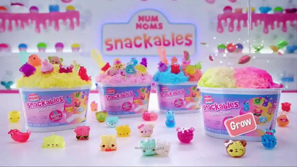 Num Noms Snackables Tv Commercial Snow Cones And Silly Shakes With Slime Ispot Tv