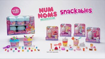 Num Noms Snackables TV Spot, 'Snow Cones and Silly Shakes with Slime' - Thumbnail 9