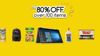 Office Depot TV Spot, 'Go Back With $2 Supplies' - Thumbnail 8