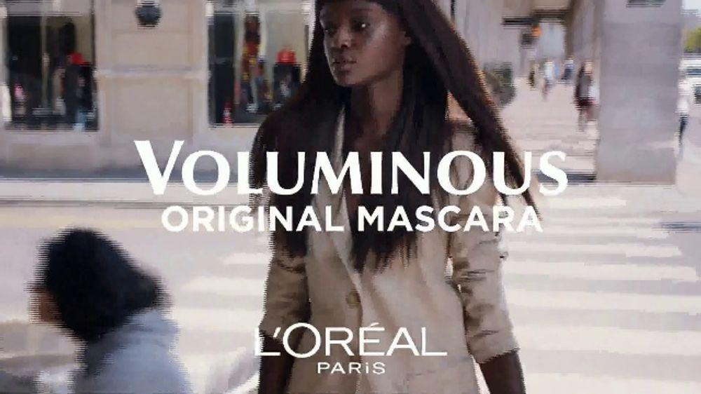 Loreal Paris Cosmetics Voluminous Original Mascara Tv Commercial