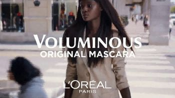L'Oreal Paris Cosmetics Voluminous Original Mascara TV Spot, 'The Power'