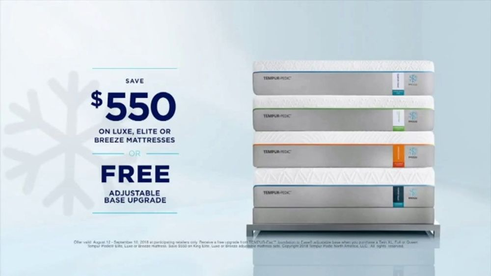 Tempur Pedic Labor Day Sales Event Tv Commercial Night And Day