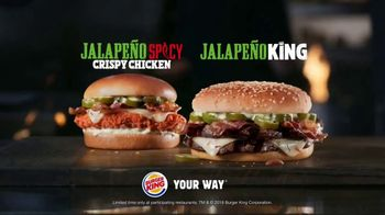 Burger King Jalapeño King TV Spot, 'Jalapeño Is Here' - Thumbnail 8