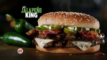 Burger King Jalapeño King TV Spot, 'Jalapeño Is Here'