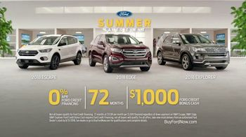 Ford Summer Sales Event TV Spot, 'On Your Own' Song by American Authors [T2] - Thumbnail 8