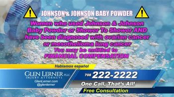 Glen Lerner TV Spot, \'Johnson & Johnson Products\'
