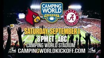 Camping World Kickoff TV Spot, 'Alabama vs. Louisville' - Thumbnail 10