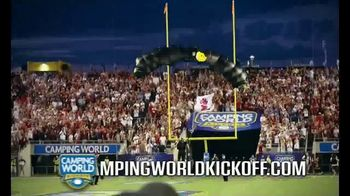 Camping World Kickoff TV Spot, 'Alabama vs. Louisville' - Thumbnail 5