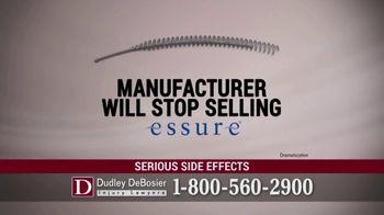 Dudley DeBosier TV Spot, 'Essure Side Effects' - Thumbnail 5