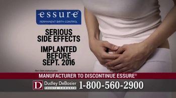 Dudley DeBosier TV Spot, 'Essure Side Effects' - Thumbnail 7