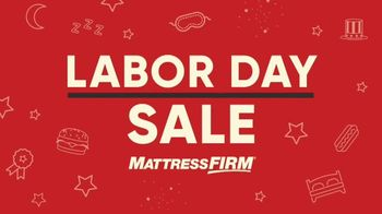 Mattress Firm Labor Day Sale TV Spot, 'More Bed for Your Buck' - Thumbnail 2