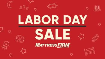 Mattress Firm Labor Day Sale TV Spot, 'Back for Everyone' - Thumbnail 2