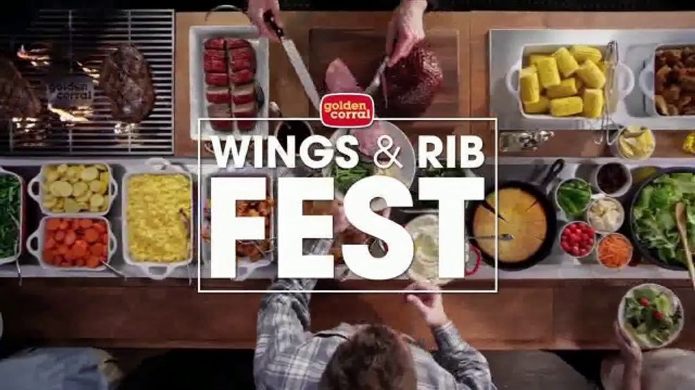 Golden Corral Wings Rib Fest Tv Commercial Just Like You Like