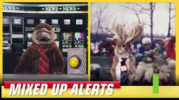 Lunchables TV Spot, 'Mixed up Alerts: The Big Game' - Thumbnail 3