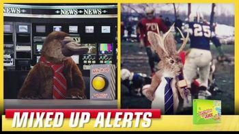 Lunchables TV Spot, 'Mixed up Alerts: The Big Game' - Thumbnail 4