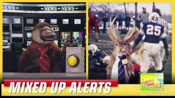 Lunchables TV Spot, 'Mixed up Alerts: The Big Game' - Thumbnail 5