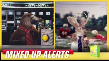 Lunchables TV Spot, 'Mixed up Alerts: The Big Game' - Thumbnail 6