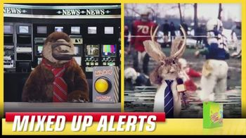 Lunchables TV Spot, 'Mixed up Alerts: The Big Game' - Thumbnail 7