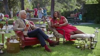 Smirnoff TV Spot, 'Nicole Byer Goes Through Ted Danson's Trophy Collection' - Thumbnail 7