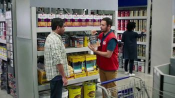 Lowe's TV Spot, 'Game-Changer: Top Stain Brands' - Thumbnail 1