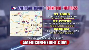 American Freight End of Summer Blowout TV Spot, 'Mattress Sets and Sofas' - Thumbnail 9