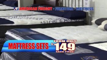 American Freight End of Summer Blowout TV Spot, 'Mattress Sets and Sofas' - Thumbnail 5