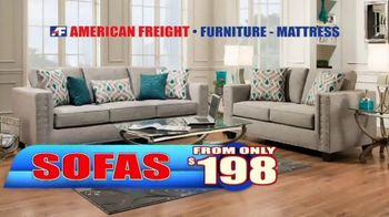 American Freight End of Summer Blowout TV Spot, 'Mattress Sets and Sofas' - Thumbnail 6