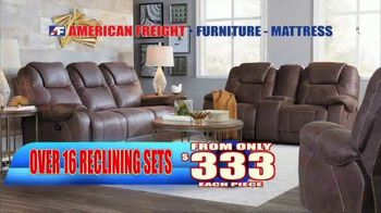 American Freight End of Summer Blowout TV Spot, 'Mattress Sets and Sofas' - Thumbnail 8