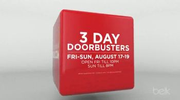 Belk One Day Sale TV Spot, 'Three Day Doorbusters' - Thumbnail 2