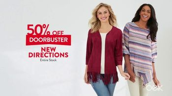 Belk One Day Sale TV Spot, 'Three Day Doorbusters' - Thumbnail 7