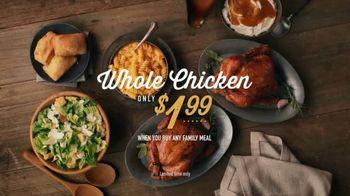 Boston Market Family Meal TV Spot, 'Extra Rotisserie Chicken' - Thumbnail 8