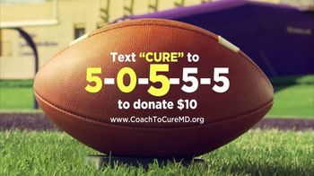 American Football Coaches Association TV Spot, 'Coaches to Cure MD' - Thumbnail 4
