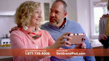 Consumer Cellular GrandPad TV Spot, 'Stay in Touch'