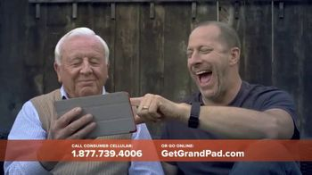 Consumer Cellular GrandPad TV Spot, 'Stay in Touch' - Thumbnail 4