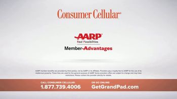 Consumer Cellular GrandPad TV Spot, 'Stay in Touch' - Thumbnail 6