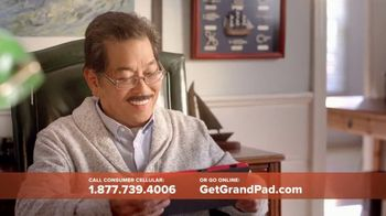 Consumer Cellular GrandPad TV Spot, 'Stay in Touch' - Thumbnail 9