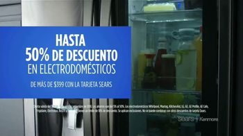 Sears Labor Day Event TV Spot, 'Corre a los ahorros' [Spanish] - Thumbnail 4