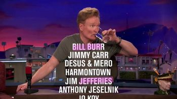 2018 New York Comedy Festival TV Spot, 'TBS: 200 Comedians' - Thumbnail 6