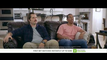 DraftKings Sportsbook TV Spot, 'High Five: Relax' - Thumbnail 2