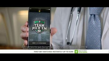 DraftKings Sportsbook TV Spot, 'Something's Wrong: Commercials' - Thumbnail 5