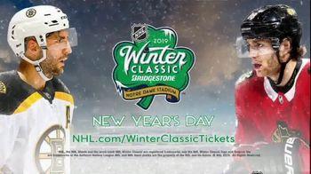NHL TV Spot, '2019 Winter Classic: Blackhawks vs. Bruins' - 503 commercial airings