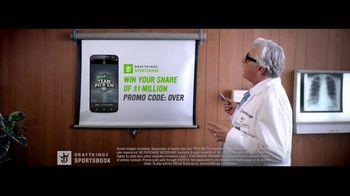 DraftKings Sportsbook TV Spot, 'Doctor-Prescribed App' - Thumbnail 2