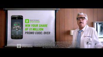 DraftKings Sportsbook TV Spot, 'Doctor-Prescribed App' - Thumbnail 8